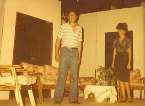 "MM in ""La Malquerida"" (High School Production)"