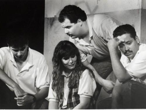 "MM as Willie in ""Los Desertores"""
