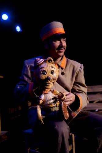 """MM as El Vigilante in """"Viva Pinocho, A Mexican Pinocchio:"""