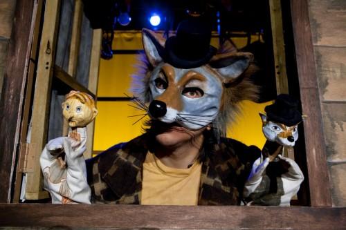 """MM as El Coyote in """"Viva Pinocho, A Mexican Pinocchio:"""