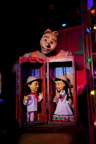 "MM as Pino Nacho in ""Viva Pinocho, A Mexican Pinocchio:"