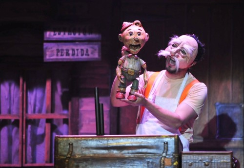 """MM as Don G in """"Viva Pinocho, A Mexican Pinocchio:"""