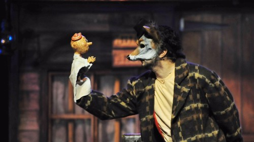 """MM as Coyote in """"Viva Pinocho, A Mexican"""