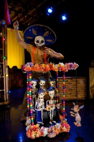 "MM as El Mariacho in ""Viva Pinocho, A Mexican Pinocchio:"