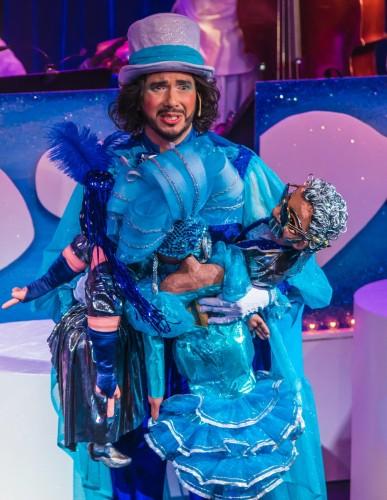 "MM as Arcangel Camacho in ""La Gloria, A Latin Cabaret"""