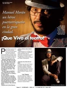 Manuel Morán, un héroe puertorriqueño en la gran ciudad